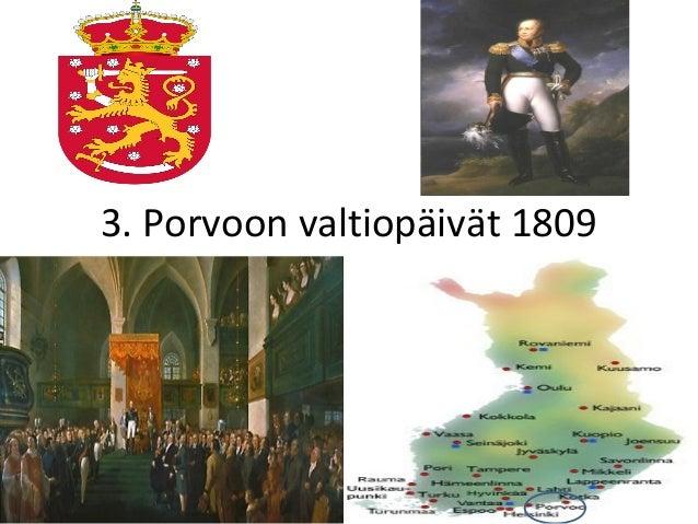 3. Porvoon valtiopäivät 1809