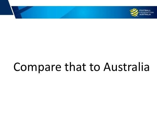 Compare that to Australia