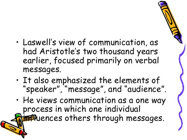 an analysis of the three components of persuasive communication the who what and whom Persuasive communication aimed at public transportation-oriented residential choice and the promotion of public transport.