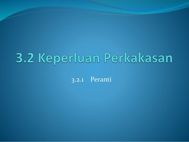 3.2.1 Peranti
