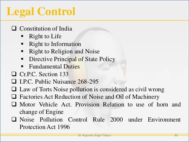 Sound (Noise) Pollution