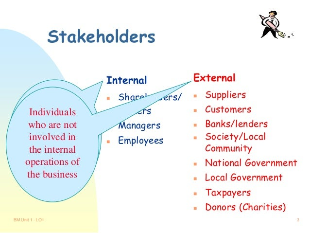 the influence of stakeholders on a Preferences • those acting on behalf of the adidas group must be willing to be  influenced by stakeholders and where appropriate, act on the.