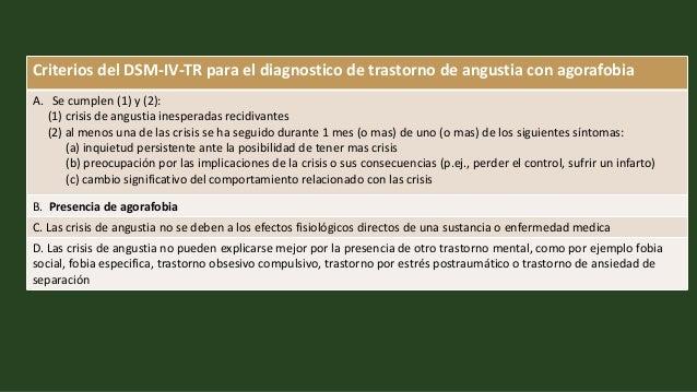 Trastorno De Ansiedad Generalizada Dsm 4 Centro Medico Santander