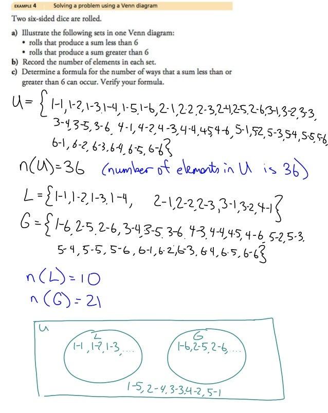 Set Notation Venn Diagram Examples Yelomphonecompany