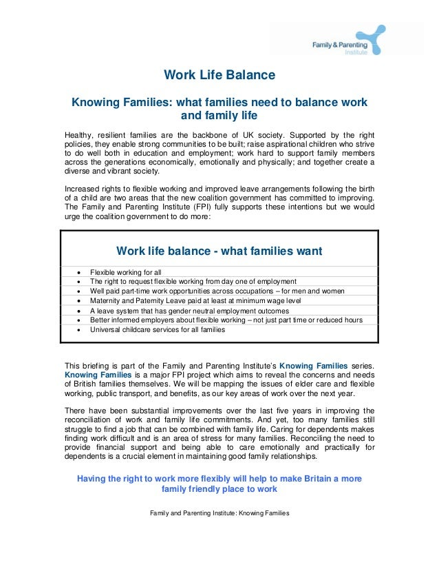 The work life balance what families need to balance work and life bal work life balance knowing families what families need to balance work and family life healthy spiritdancerdesigns Choice Image