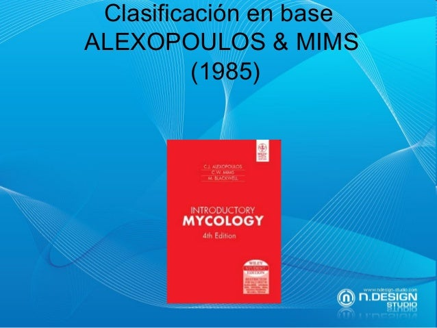 Clasificación en base ALEXOPOULOS & MIMS (1985)