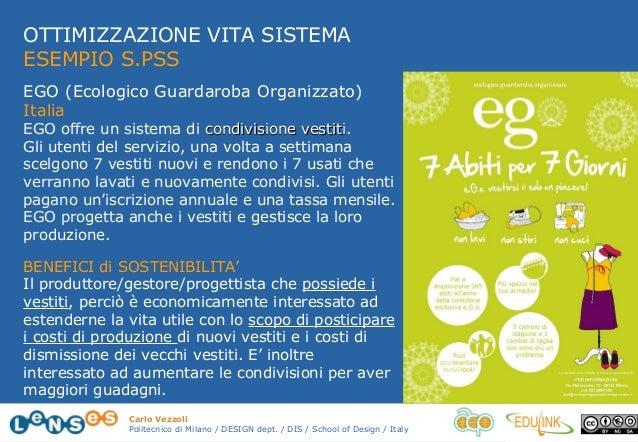 Ecologico Guardaroba Organizzato.3 Design Di Sistema Per La Sostenibilita Vezzoli 14 15 42