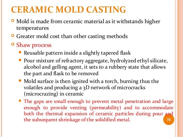 3 Expendable Mold Casting