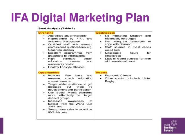 digital media analyst business plan