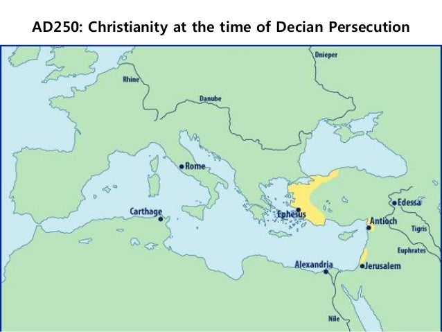 Rapid growth of christianity in the first centuries essay