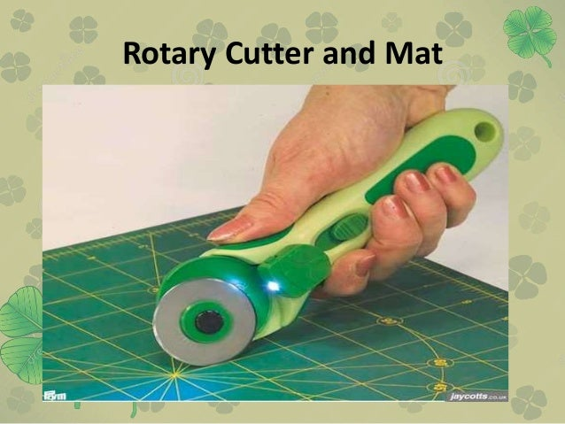 Rotary Cutter and Mat