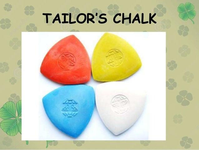 TAILOR'S CHALK