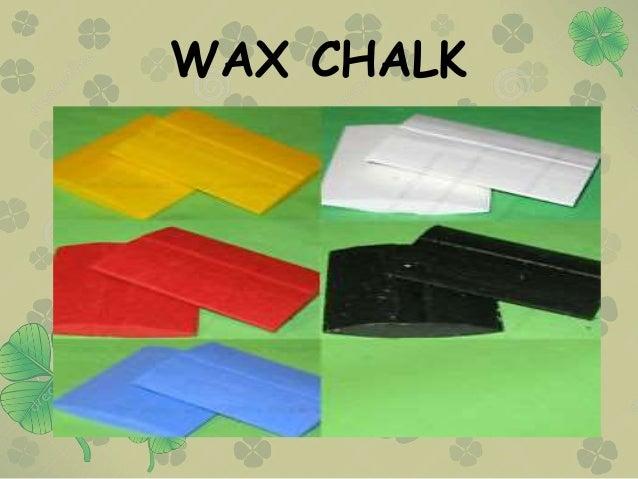 WAX CHALK