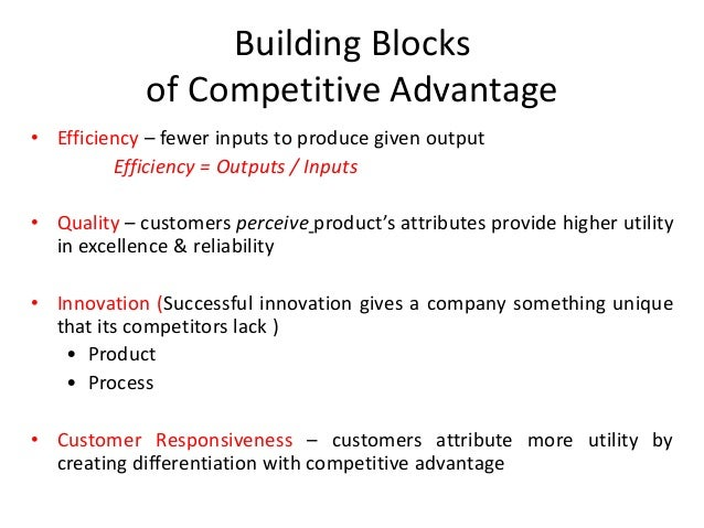 Analysis for Builders advantage