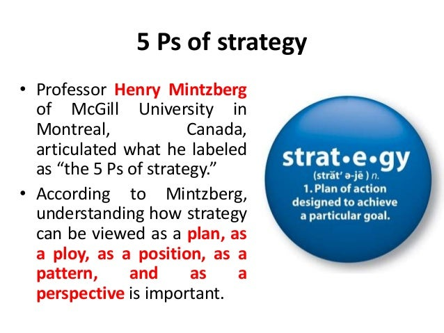 Mintzberg's Five Types of Organizational Structure