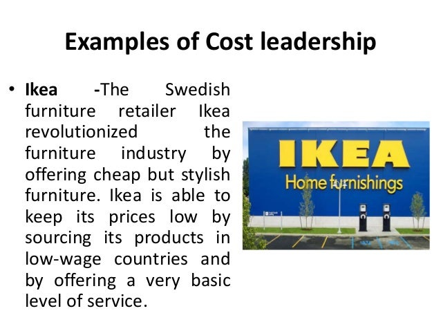 cost leader
