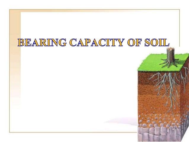 Capacity of soil for Five uses of soil