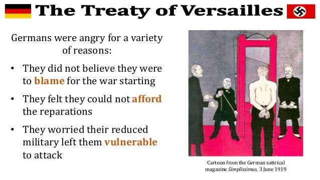 how did the treaty of versailles punish germany? essay The treaty of versailles questions  clemenceau wanted to punish germany very harshly through  the treaty of versailles made germany lose 125% of its.