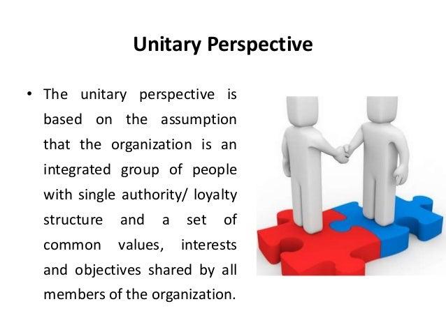 unitarist perspective