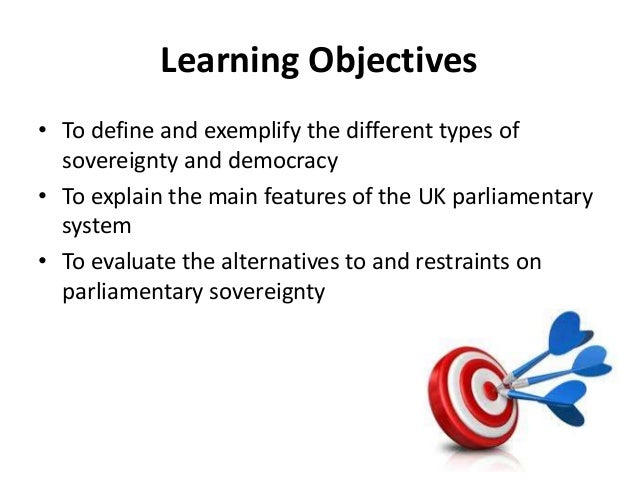 Democracy U0026 Sovereignty; 2. Learning Objectives U2022 To Define And Exemplify  ...