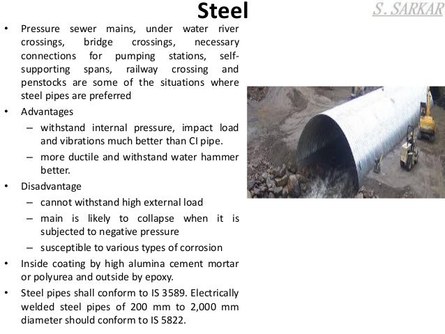 ... 9.  sc 1 st  SlideShare & materials of sewer