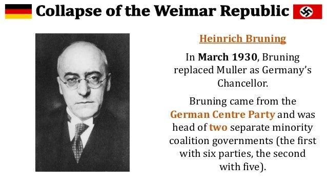 Image result for Brüning german chancellor  images