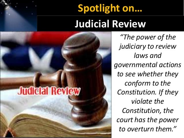 Judicial review - Wikipedia
