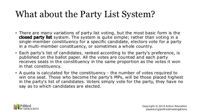 criticisms of various electoral systems in Cording to this view, political party systems are shaped by electoral institu-   examinations of multiple cases (elster, offe, and preuss 1998 geddes  bates ( 1988) and knight (1992, 28-40 1995) offer general critiques of the.
