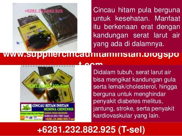 Produsen Cincau Powder Medan, Distributor Cincau Powder Medan, Daftar Harga Cincau Hitam+6281.232.882.925 (T-sel) Slide 2