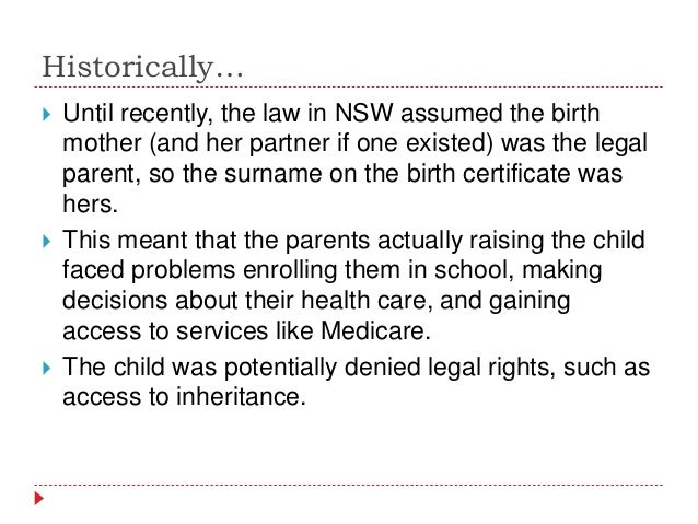 surrogacy and birth technologies legal studies