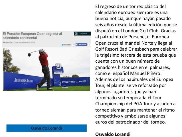 El regreso de un torneo clásico del calendario europeo siempre es una buena noticia, aunque hayan pasado seis años desde l...