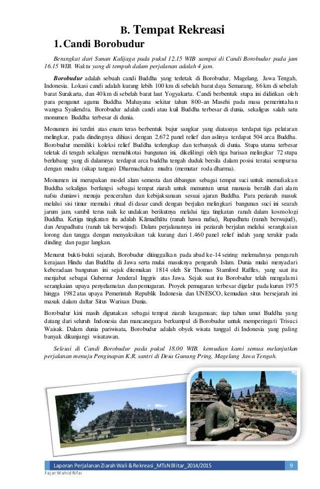 Contoh Laporan Study Tour Ke Bali Dalam Bahasa Jawa Kumpulan Contoh Laporan