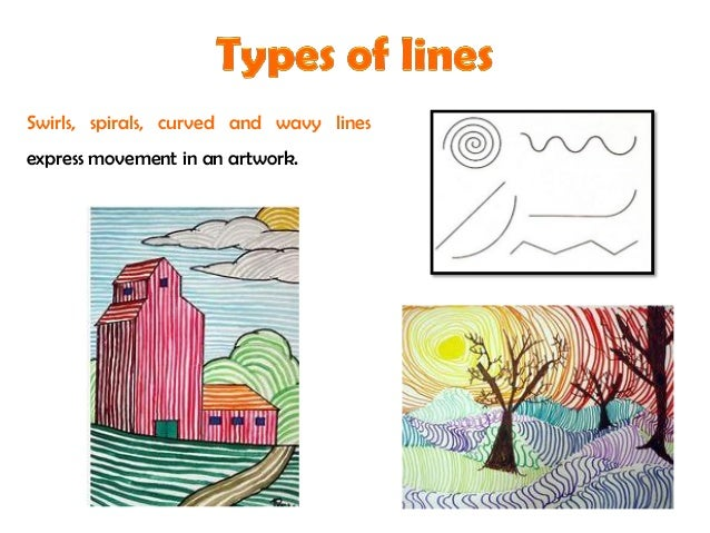 3 types of lines in art