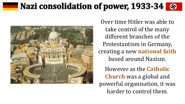 consolidation of power of hitler and How did hitler consolidate his position and create a one-party state between march and july 1933 what part did propaganda and repression play in hitler's consolidation of power.