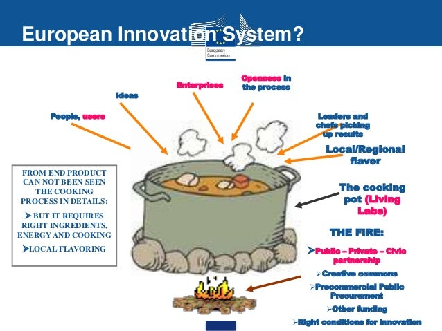 ••• 6 European Innovation System? FROM END PRODUCT CAN NOT BEEN SEEN THE COOKING PROCESS IN DETAILS:  BUT IT REQUIRES RIG...
