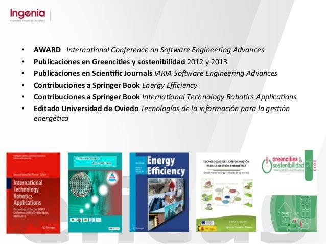 éficus • AWARD      Interna'onal  Conference  on  So/ware  Engineering  Advances   • Publicaciones  ...