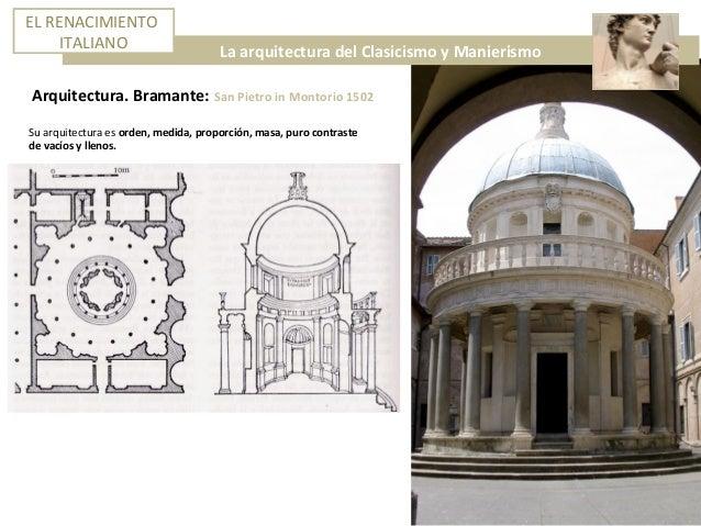 3 el renacimiento italiano el cinquecento for Arquitectura quattrocento y cinquecento