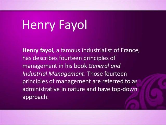 fayols principle Fayols 14 principle - authorstream presentation  9 scalar chain (line of authority) : 9 scalar chain (line of authority) a hierarchy is necessary for unity of.