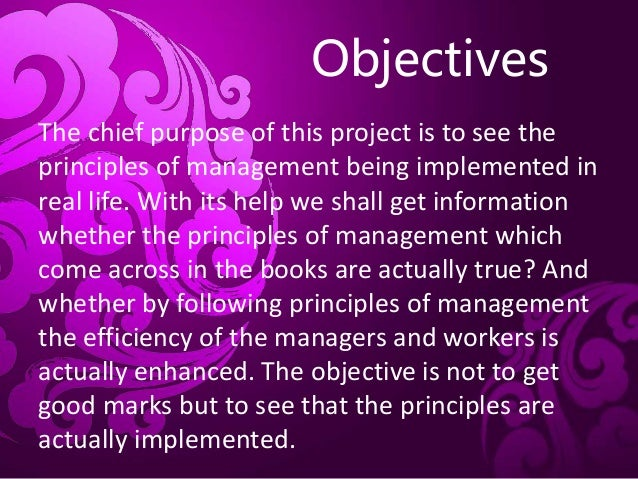 fayols principle You'll create a positive workplace culture if you follow these management principles when you look back at the history of management,  management principle #6.