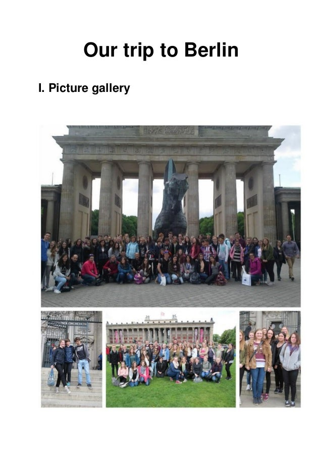 Our trip to Berlin I. Picture gallery