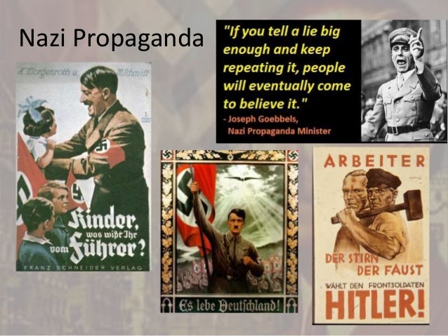 the nazis use propaganda to rise to power During their rise to power in germany, the nazis made extensive use of modern technology in various ways the first he used this as a sort of propaganda, and also to get his message across to more people while the use of the airplane as a mode of transportation was useful, the propaganda use was even greater.