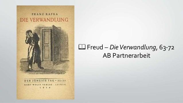 📖 Freud – DieVerwandlung, 63-72 AB Partnerarbeit