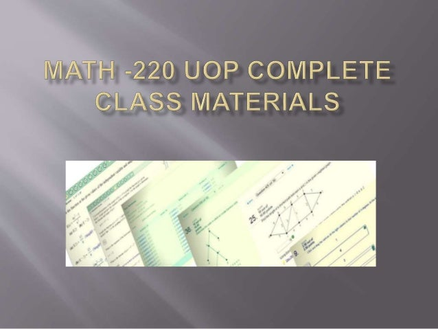 syllabus math 220 Description techniques and applications of differential equations, first and second order equations, laplace transforms, series solutions, graphical and numerical methods, and partial differential equations.