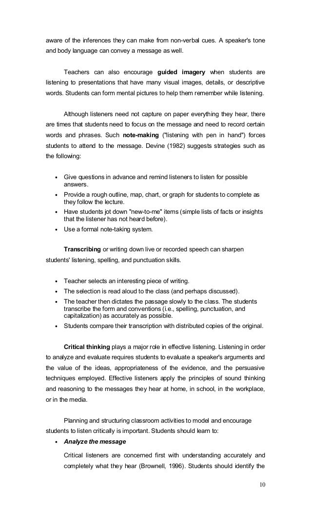 Teaching Listening and Speaking (3 of 16)