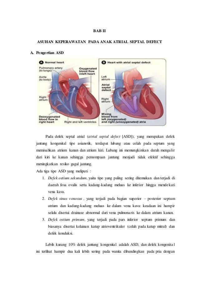 ASKEP ATRIAL SEPTAL DEFECT (ASD)