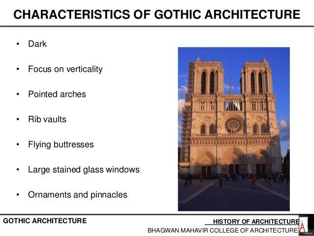 3 gothic period