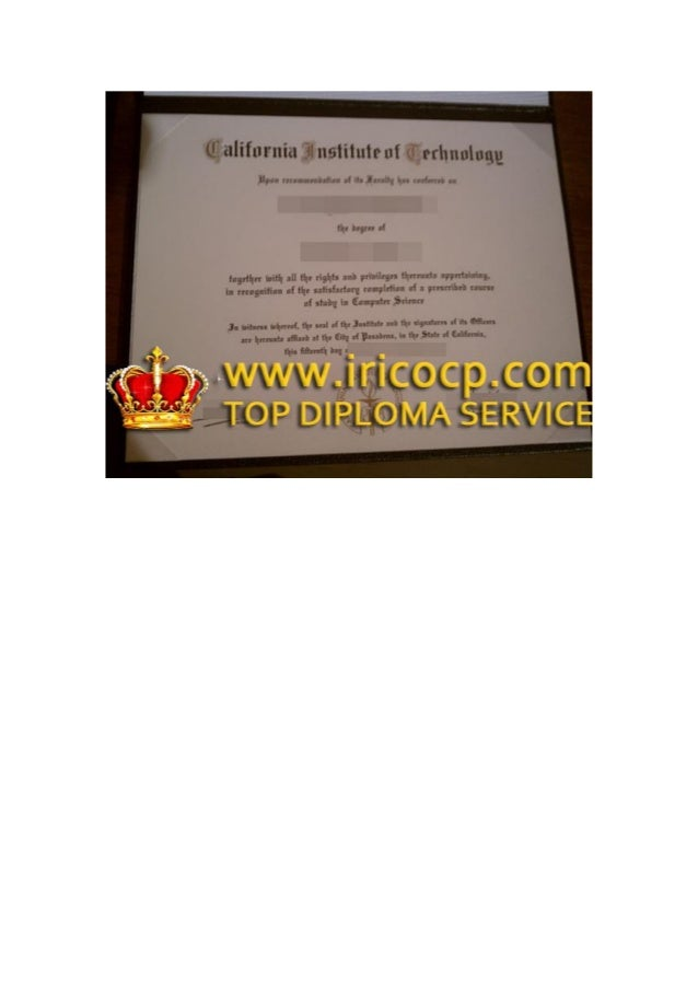 fake California Institute of Technology degree, buy diploma, how to buy degree?