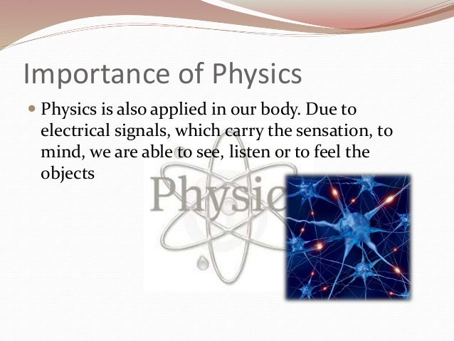 importance of physics in transportation