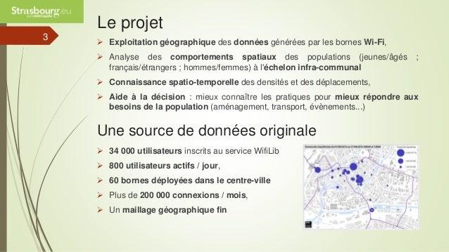 Observatoire territorial par le wifi public - Eurométropole de Strasbourg Slide 3