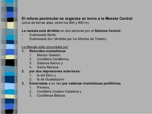 UNIDADES DEL RELIEVE ESPAÑOL- ESO Slide 2